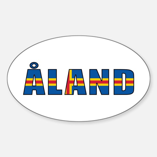 Åland Sticker (Oval)