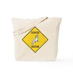 Cockatoo Crossing Sign Tote Bag