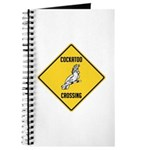 Cockatoo Crossing Sign Journal