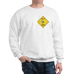 Blue Jay Crossing Sign Sweatshirt