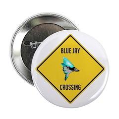 Blue Jay Crossing Sign 2.25