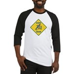 Blue Jay Crossing Sign Baseball Jersey