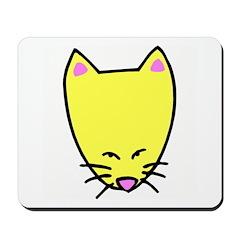 Cat Cartoon Mousepad