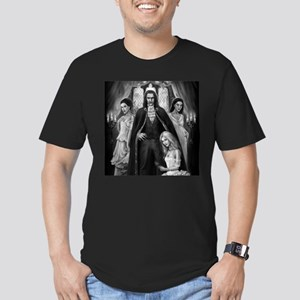 Brides of Dracula Men's Fitted T-Shirt (dark)