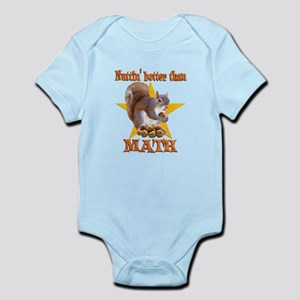Math Squirrel Infant Bodysuit