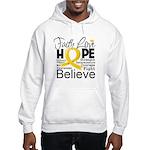 Faith Hope Neuroblastoma Hooded Sweatshirt