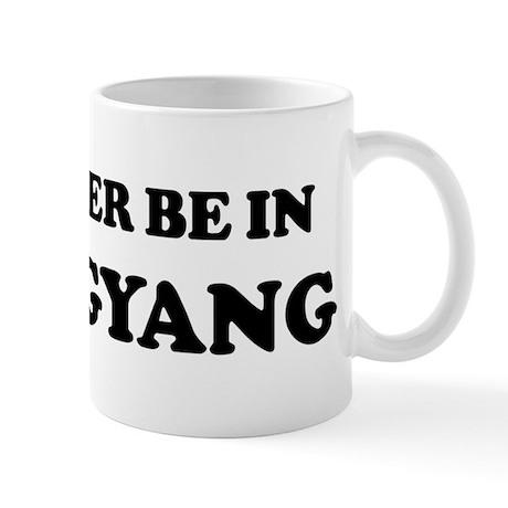 Rather be in P'yongyang Mug