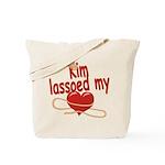 Kim Lassoed My Heart Tote Bag