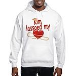 Kim Lassoed My Heart Hooded Sweatshirt