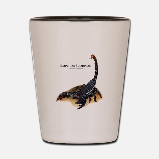 Emperor Scorpion Shot Glass