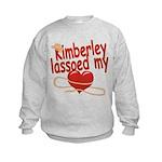 Kimberley Lassoed My Heart Kids Sweatshirt