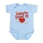 Kimberley Lassoed My Heart Infant Bodysuit