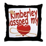 Kimberley Lassoed My Heart Throw Pillow
