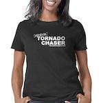 tornadochaser2linedark Women's Classic T-Shirt