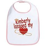 Kimberly Lassoed My Heart Bib