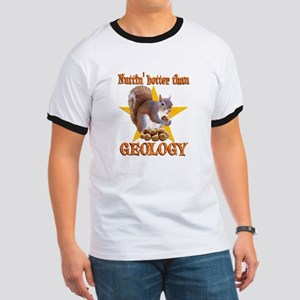 Geology Squirrel Ringer T