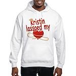 Kristin Lassoed My Heart Hooded Sweatshirt