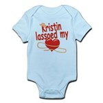 Kristin Lassoed My Heart Infant Bodysuit