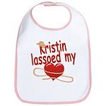 Kristin Lassoed My Heart Bib