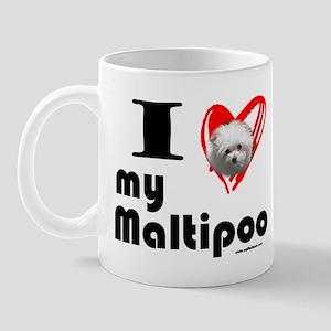 I Love my Maltipoo Mug