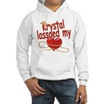 Krystal Lassoed My Heart Hooded Sweatshirt