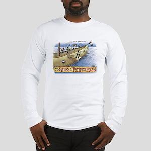 Pi_4 Pi-Rates (10x10 Color) Long Sleeve T-Shirt