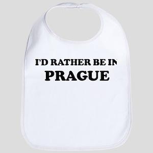 Rather be in Prague Bib