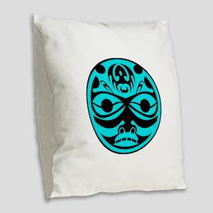 A NEW SPIRIT Burlap Throw Pillow