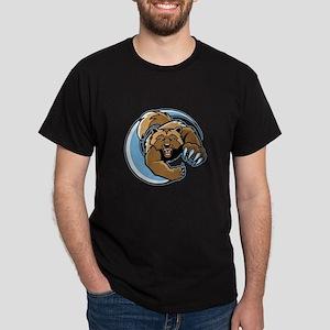 Wolverine Mascot Dark T-Shirt