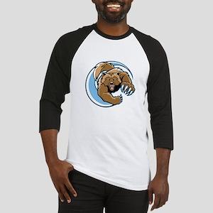 Wolverine Mascot Baseball Jersey