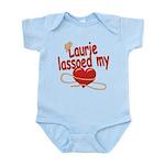 Laurie Lassoed My Heart Infant Bodysuit