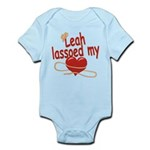 Leah Lassoed My Heart Infant Bodysuit