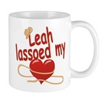 Leah Lassoed My Heart Mug