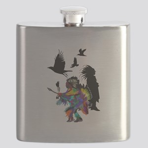 NATURAL TRIBUTE Flask