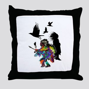 NATURAL TRIBUTE Throw Pillow