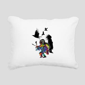 NATURAL TRIBUTE Rectangular Canvas Pillow