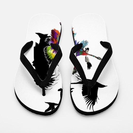 NATURAL TRIBUTE Flip Flops