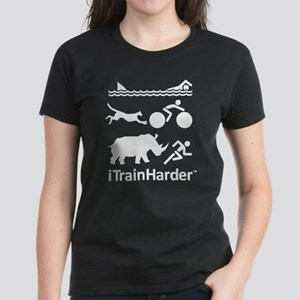 iTrainHarder Women's Dark T-Shirt