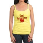 Lori Lassoed My Heart Jr. Spaghetti Tank