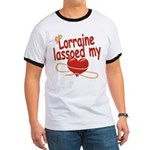 Lorraine Lassoed My Heart Ringer T