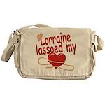 Lorraine Lassoed My Heart Messenger Bag