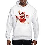 Lynn Lassoed My Heart Hooded Sweatshirt