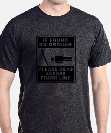 If found on ground (male runner) T-Shirt