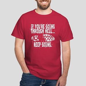 Going Through Hell - Runner Dark T-Shirt