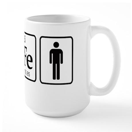 Ironman Element Large Mug