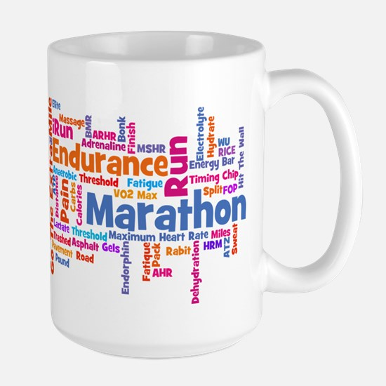 Runner Jargon Large Mug