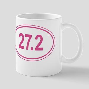 Pink Go The Extra Mile Mug