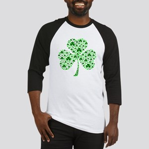 Irish Shamrocks Baseball Jersey