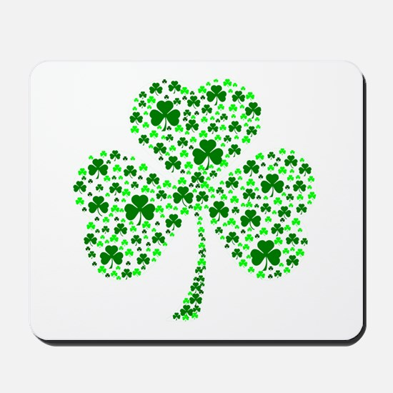Irish Shamrocks Mousepad