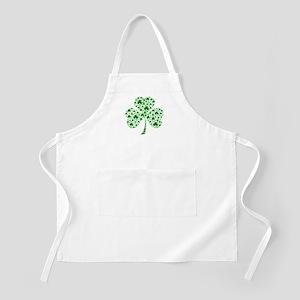 Irish Shamrocks Apron